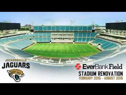 Jacksonville Jaguars EverBank Field Renovation Time-Lapse
