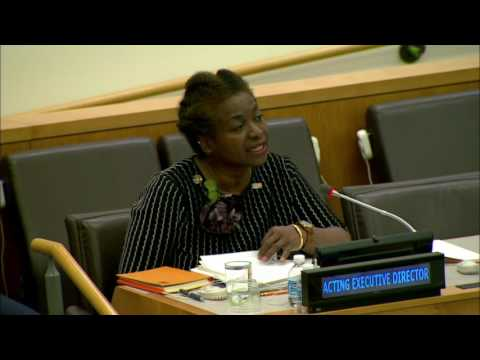 Dr. Natalia Kanem, Acting Executive Director of UNFPA