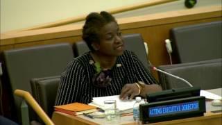 Dr. Natalia Kanem, Acting Executive Director of UNFPA
