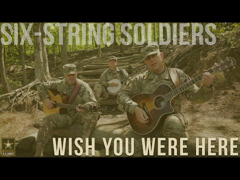 'Wish You Were Here' (Pink Floyd) Acoustic Cover Soldier Tribute