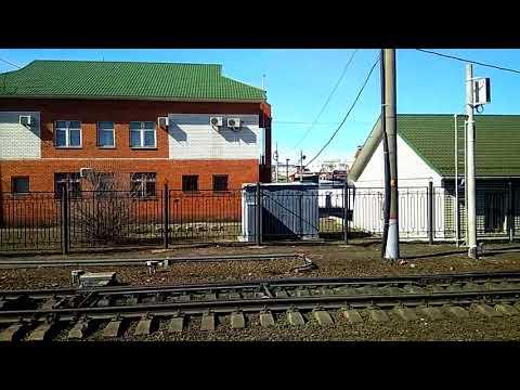 Лиски. Из Сочи в Москву на поезде (2). Россия из окна поезда.