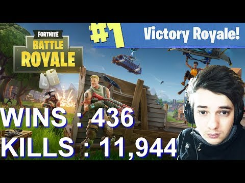 [FR/PC/LIVE] Fortnite en solo 436 wins!