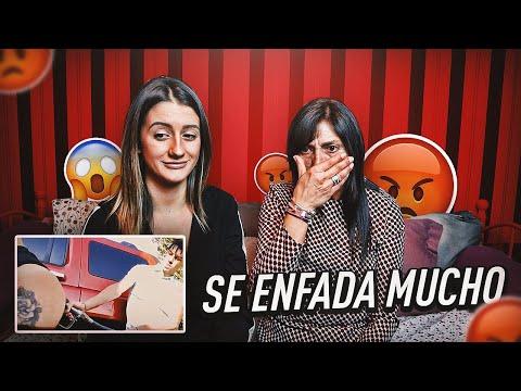 MI MADRE REACCIONA A CANCIONES DE TRAP | FatiV�zquez