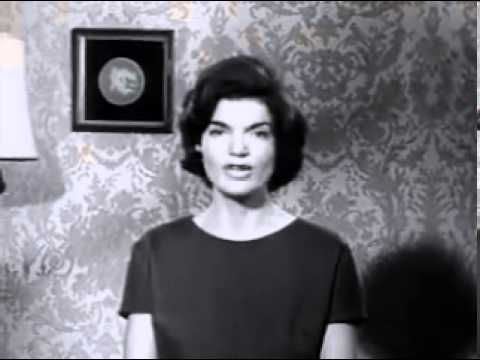 Jackie Kennedy Speaking in Spanish Commercial- JFK 1960 Presidential Campaign Election Ad