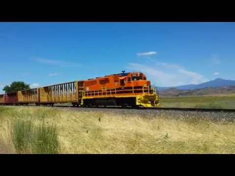 Central Oregon & Pacific Railroad north of Gazelle, CA