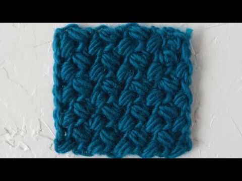 How To Crochet Bean Stitch Youtube