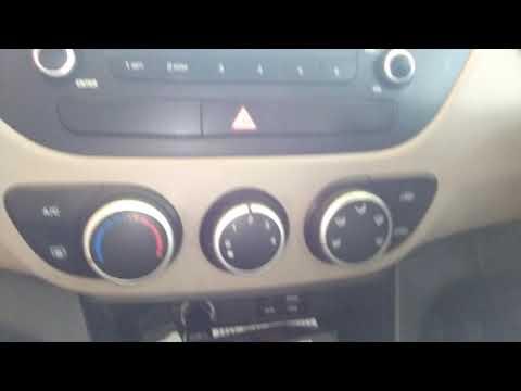How to clean a cabin AC Air Filter Hyundai Asta Grand i10