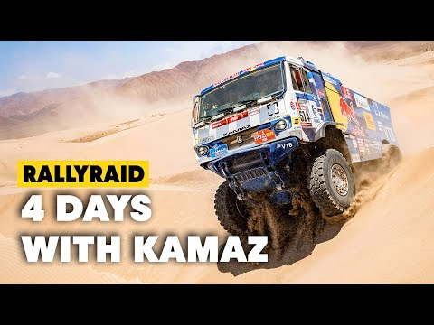 Dakar Trucks: 4 Days w/ The Kamaz Master Team In Kazakhstan