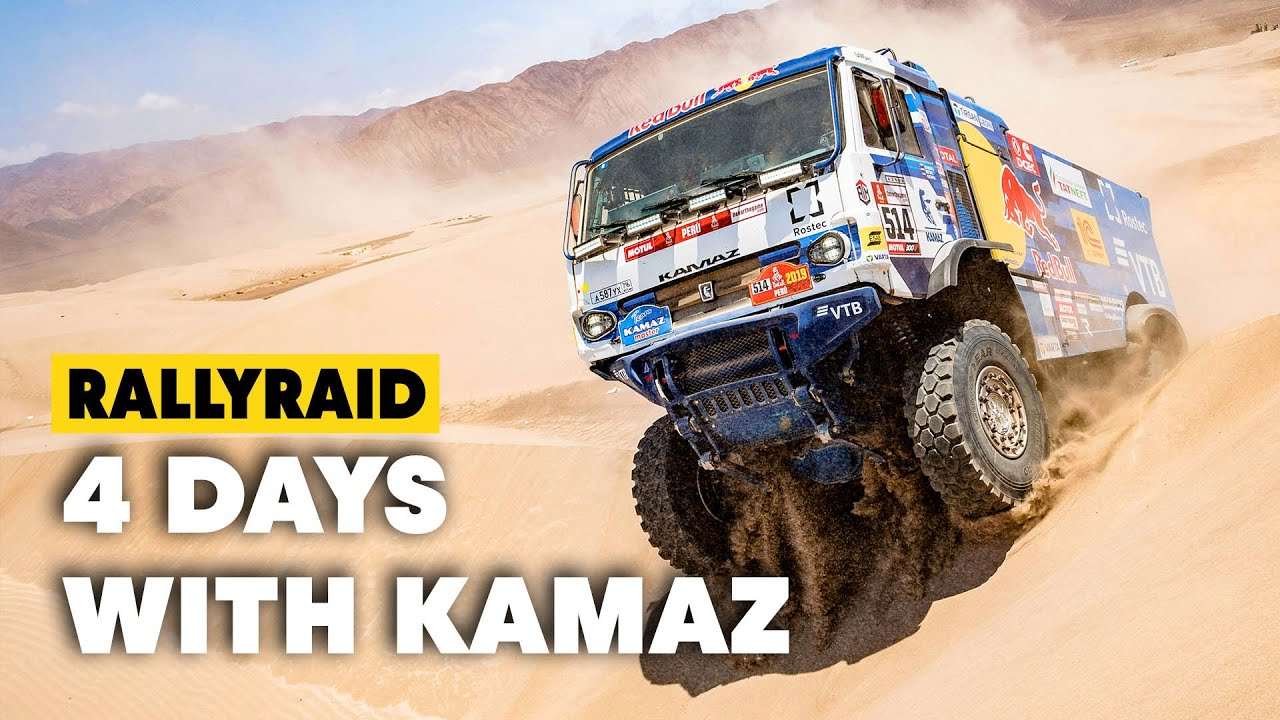 Dakar Trucks: 4 Days w/ The Kamaz Master Team In Kazakhstan - YouTube