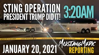 Part 3 Breaking News Live at the US Capital January 20 2021 Operation Sting MustangMedic Reporting