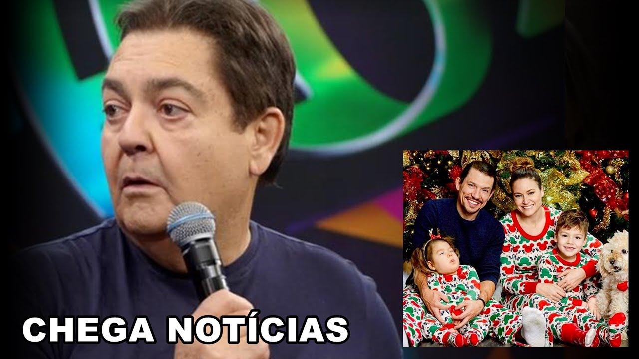 Triste noticia para TV Globo: Fausto Silva tem atitude e... | Ator faz comunicado que entristece.