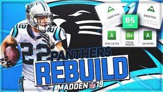 Rebuilding The Carolina Panthers | INSANE DRAFT CLASS | Madden 19 Franchise Mode