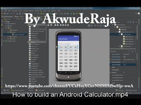 How to build an Android Scientific Calculator (for beginners)
