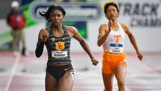 USC's Angie Annelus overcomes injuries to win NCAA 200-meter crown