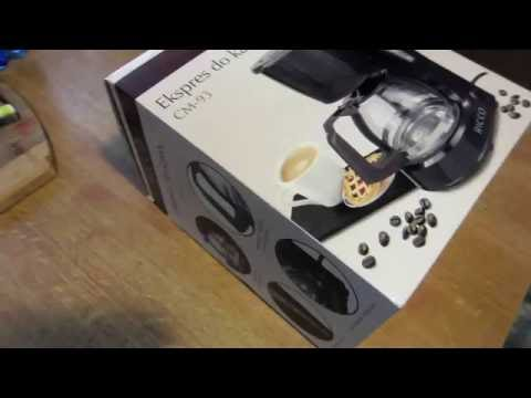 Cudowna Ekspres do kawy CM-93 - RICCO - YouTube EC01