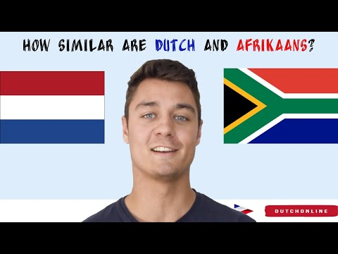 How Similar are Dutch and Afrikaans?