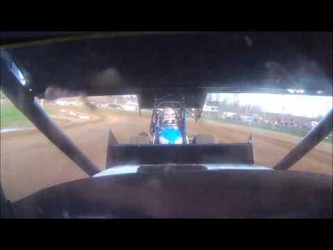 Darin Gallagher 305 Sprint Heat #2 Mercer