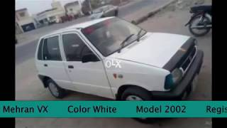 Suzuki Mehran 2002 Model AC + CNG for sale