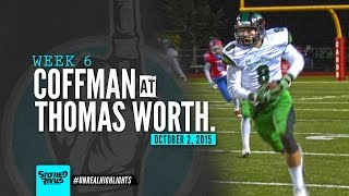 HS Football | Dublin Coffman at Thomas Worthington [10/2/15]