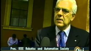 Prof. B. Siciliano intervista per ICRA 2007 - RAI International Qui Roma - 15 Apr 2007
