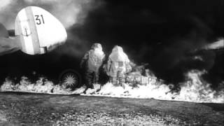 French fire fighters demonstrate new aluminum foil fire suits in France. HD Stock Footage