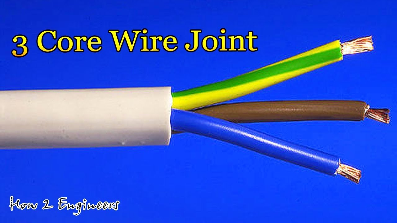 3 core wire joint /cable joint/ CABLE joint by supper technician /how Wiring Joint on