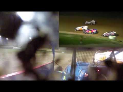 Dayton Brewer Crate Sportsman Feature Win | Woodhull Raceway 9-23-17