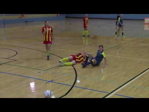 Sunshine Coast Wave vs South Brisbane - U16 Girls Final - SEQFPL 2016-2017