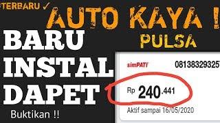 KE TIGA APLIKASI TERBARU PENGHASIL PULSA TERCEPAT TERBAIK 2019