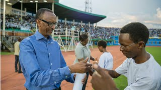 PRESIDENT KAGAME IN WALK TO REMEMBER AT KWIBUKA 22