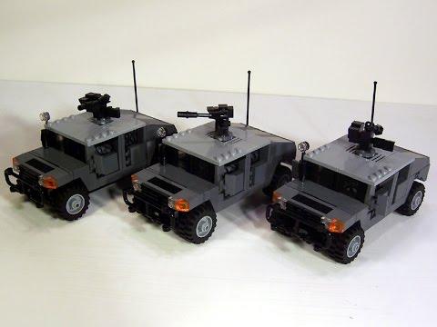 Lego Custom Build 1 Humvee Youtube