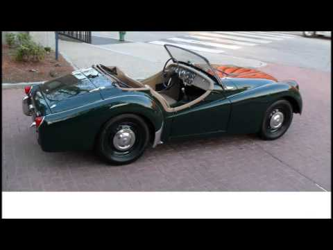 for sale 1957 triumph tr3 smallmouth cabriolet a vendre youtube. Black Bedroom Furniture Sets. Home Design Ideas