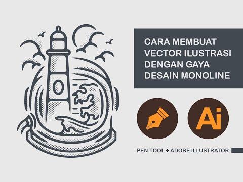 Assalamualaikum. Kali ini saya ingin membuat sebuah logo pendaki dengan adobe illustrator. Di sini s.