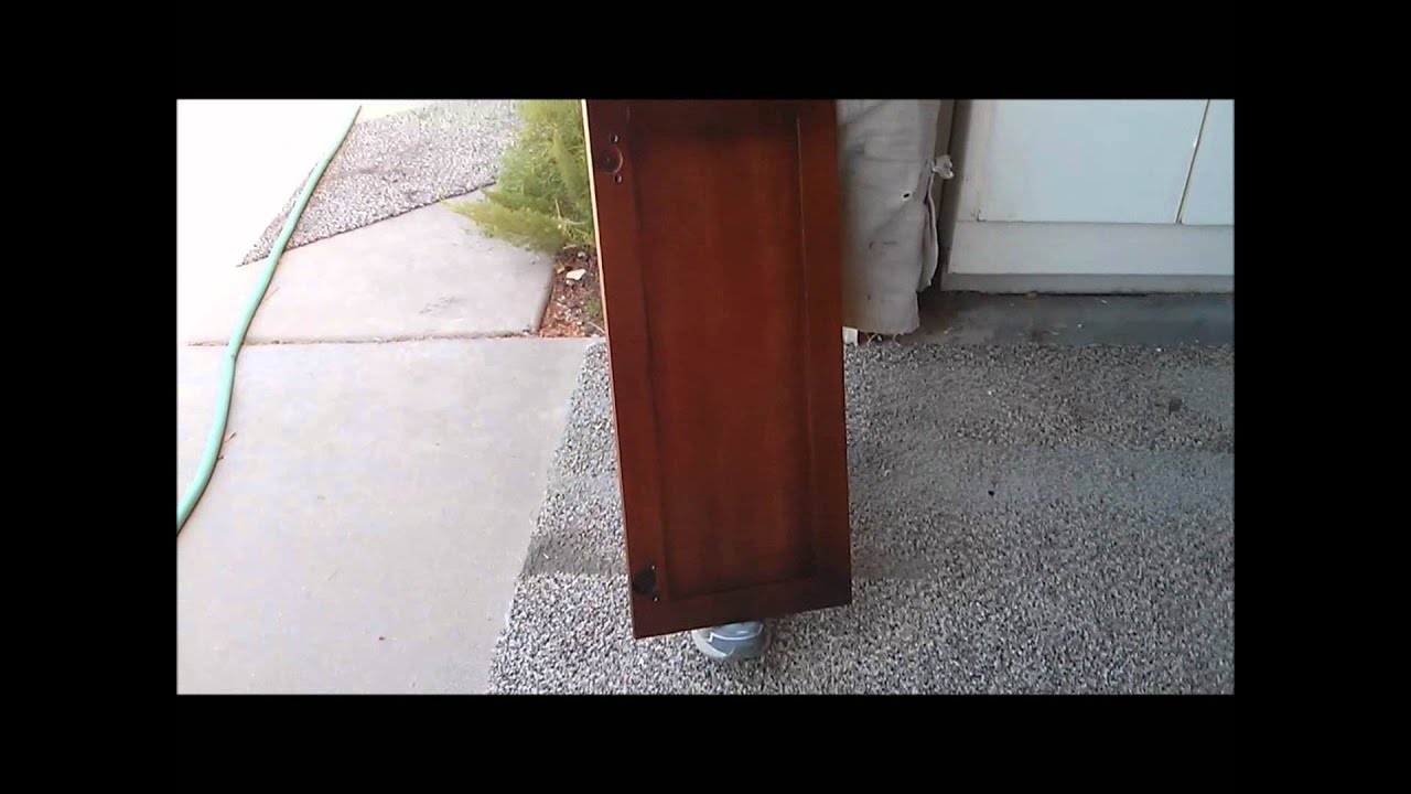 How To Finish Cabinets Maple To Cherry Cabinet Refinishing Arizona And Beyond Youtube
