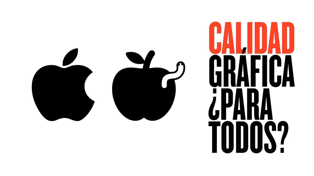 Las marcas baratas 🍎 ¿necesitan logos de buena calidad gráfica?