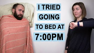 I Went to Bed at 7pm Every Night for a Week. Here's What Happened.