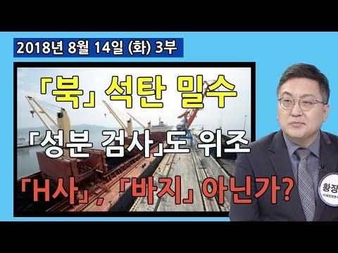3부  「북」 석탄 밀수 「성분 검사」도 위조 「H사」 정보기관 「바지」 아닌가? [세밀한안보] (2018.08.14)