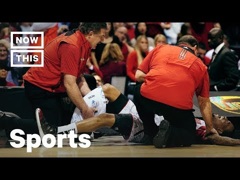 Remember When: Kevin Ware's Horrific Leg Injury | NowThis