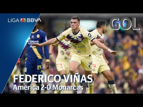 Gol de F. Viñas | América 2 - 0 Morelia | Liga BBVA MX - Semifinales