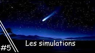 Simulation sur Stellarium n°5 : Une pluie d'étoile filante