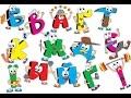 Живая азбука для малышей. Алфавит для малышей. Русский алфавит.