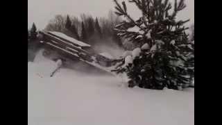 ТАНК (ГАЗ 34039) штурмует снег