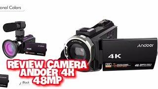 Review Camera Andoer 4K, 48MP Cuman 2.385.000 Gokilll...