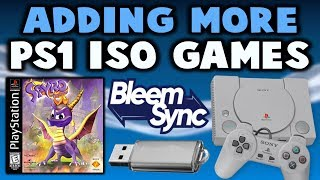 BleemSync Adding PS1 ISO Games Onto Your USB!