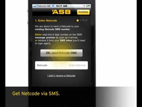 How To register for ASB Mobile Banking