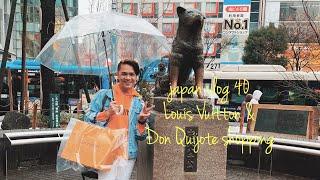 JAPAN VLOG 40 - Louis Vuitton & Don Quijote shopping