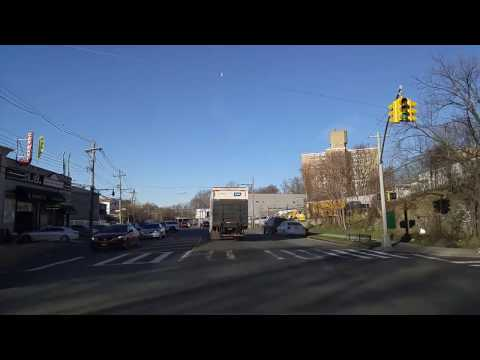 Driving from Eastchester to Baychester in the Bronx,New York