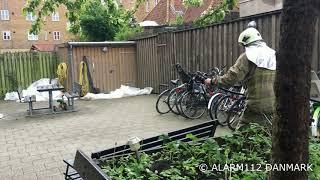 Røg fra lejlighed København S
