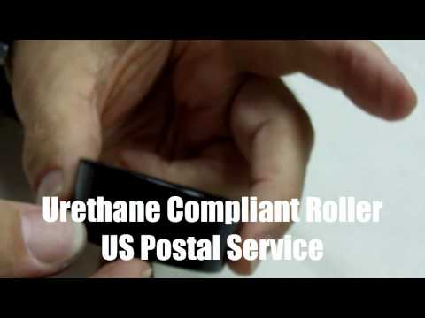 Polyurethane Compliant Rollers USPS Mail Equipment