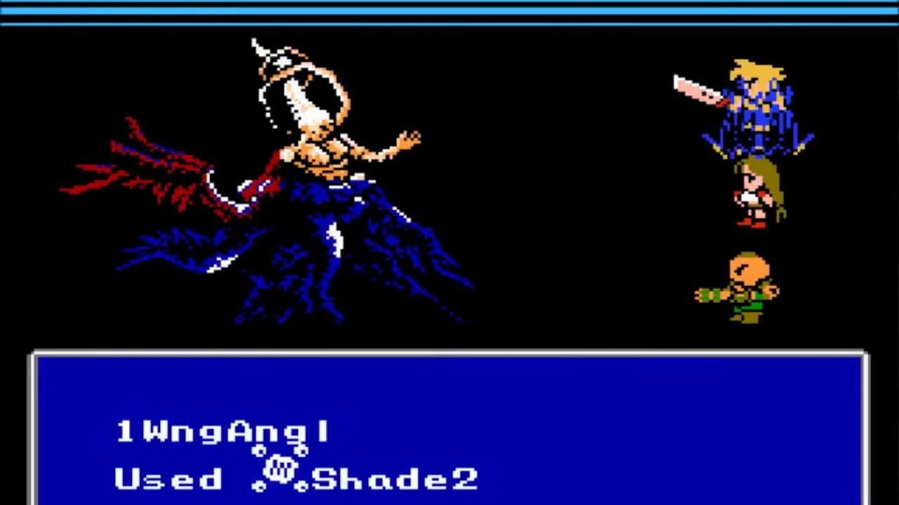 Final Fantasy Vii Nes Final Boss Ending Hd Youtube